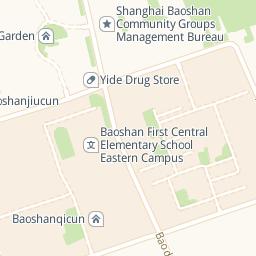 Baoshan Sports Center Shanghai Sports Recreation Thats - Baoshan map