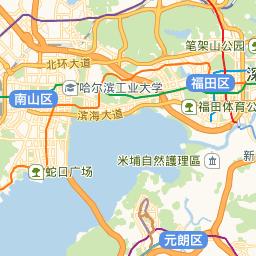 深圳市福田区司法拍卖房星河国际花园南北通看花园(图9)